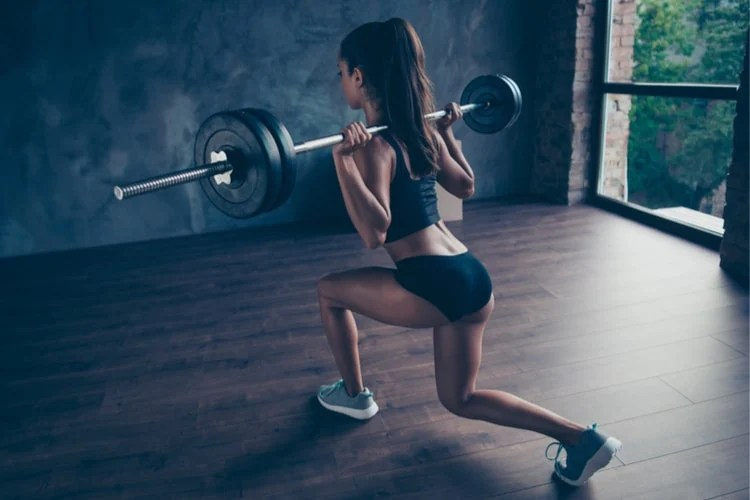 30-minute circuit training for sporty looking legs