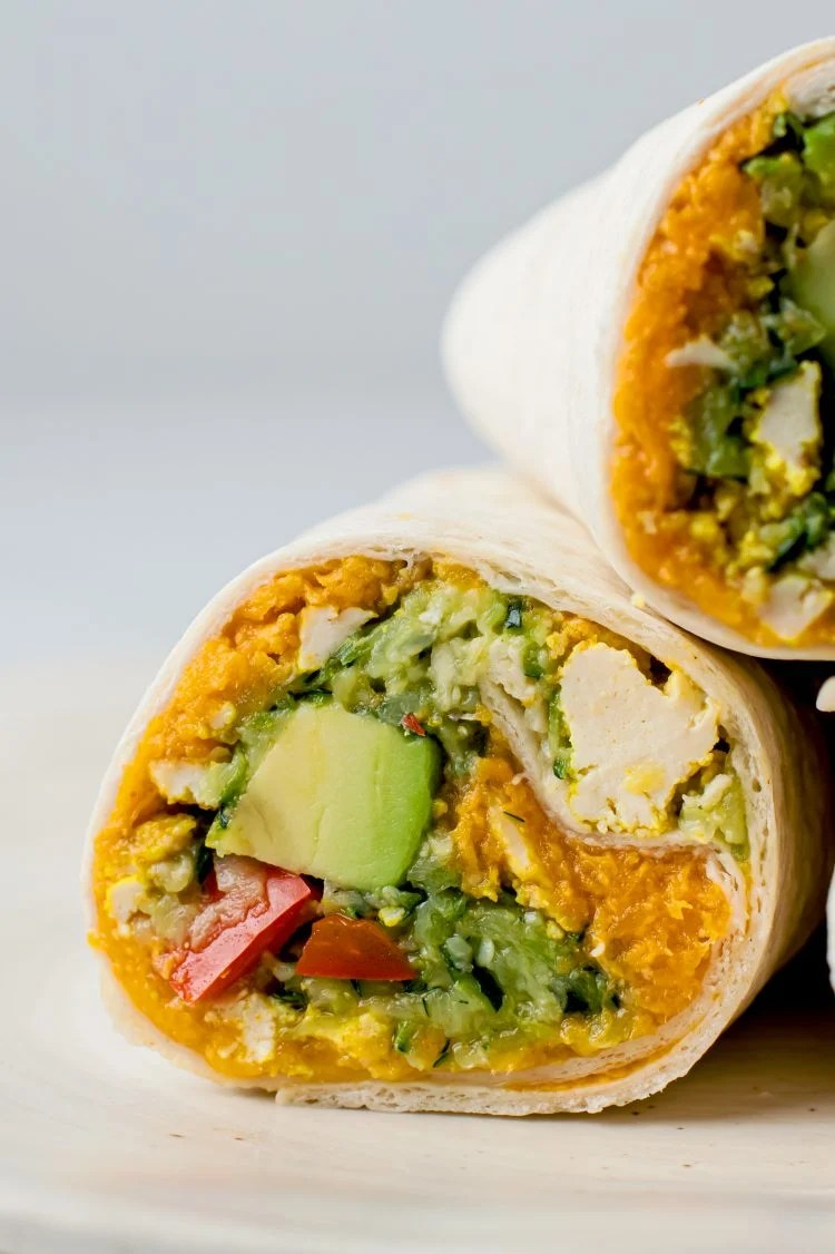 Have a healthy plant-based morning with these delicious vegan breakfast burritos!