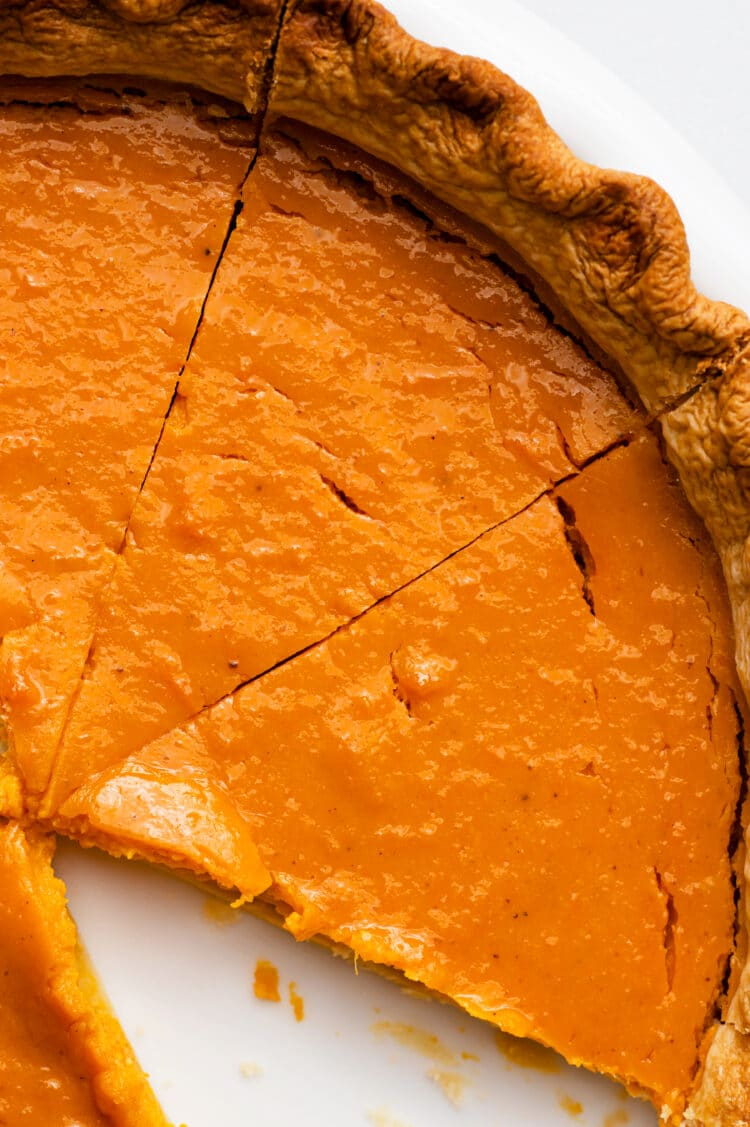 Our dairy-free pumpkin pie is a sweet and healthy holiday treat!