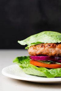 A low carb, low calorie burger that tastes amazing!
