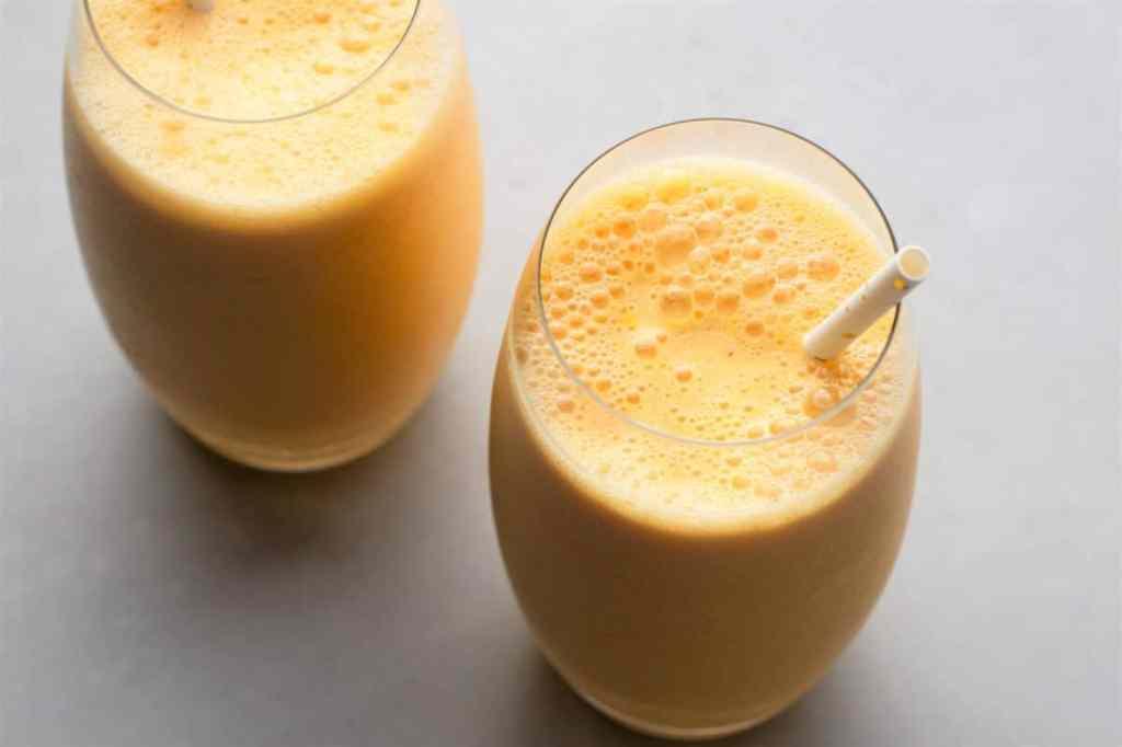Our Skinny Orange Julius is full of delicious orange flavor!