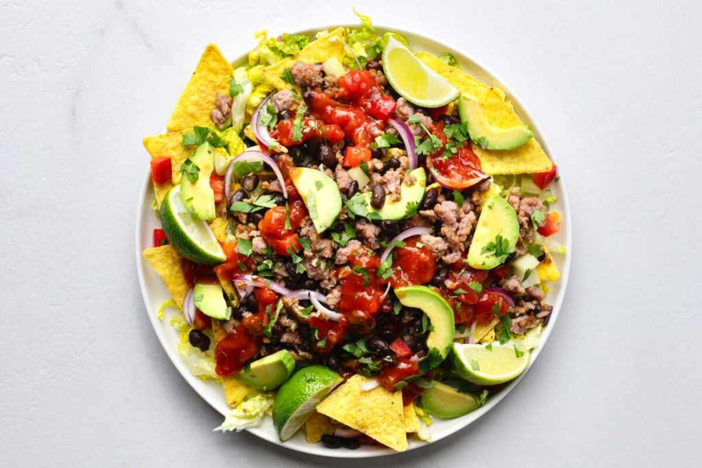 Our spicy nacho salad is the perfect healthy option if you have southwestern flavors on your mind.