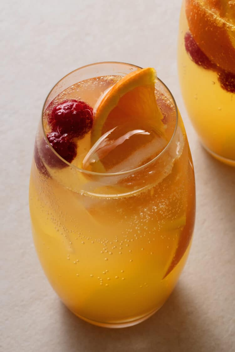 Fresh and fruity drinks are great for warm weather.
