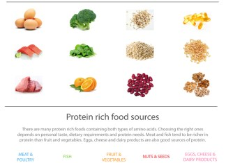 Food for muscles growth
