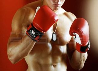 Michael Greene boxing gloves