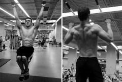 Chris Heskett back workout