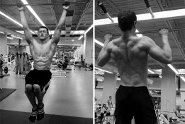 Chris Heskett back workout