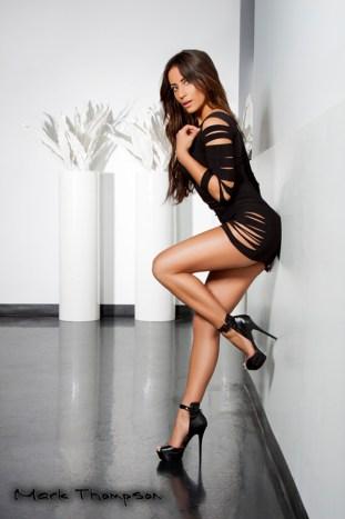 Tania Ziesman glamour model pose