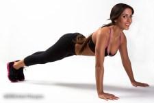 Tania Ziesman push ups