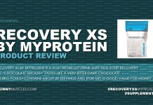 Recovery XS by Myprotein – product review