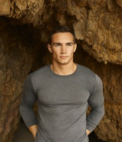 Tristan Edwards grey top