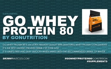 Go Whey Protein 80 by GoNutrition – product review
