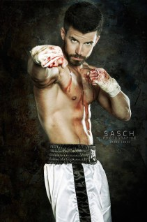Florian Bornschier gloves on