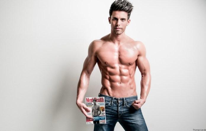 sale retailer 0d4cc 21cf4 Fitness model interview: Florian Bornschier