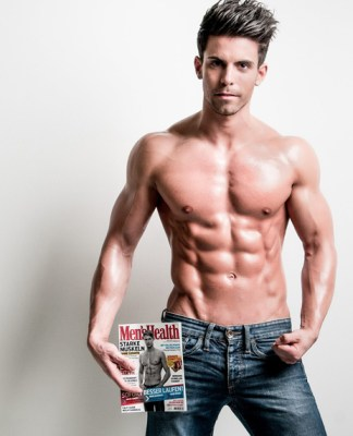 Florian Bornschier German fitness model and personal trainer