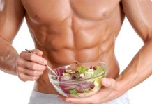 Six pack abs in six meals