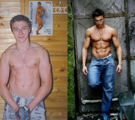 Alexandru Ceobanu - body transformation