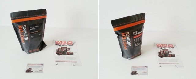Total Mass Matrix and Whey Protein 80 by The Protein Works