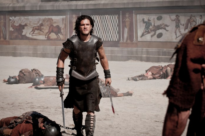 Kit Harington as gladiator Milo