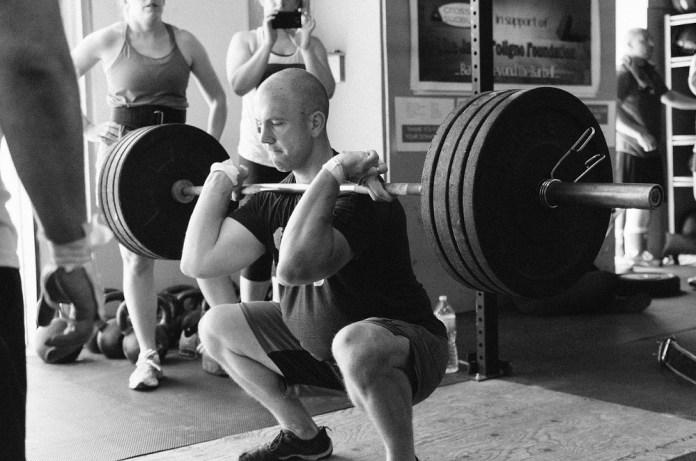 weightlifter, heavy weights