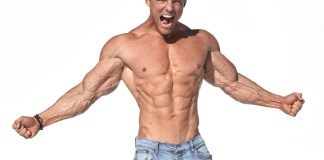 steve cook, international fitness model, ironman magazine