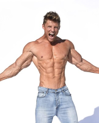 steve cook, international fitness model, ironman magazine