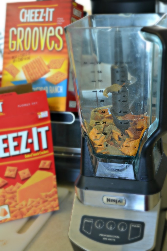 Cheez-It Breading