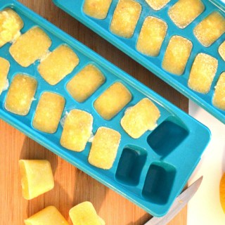 Immune Boosting Lemon Detox Ice Cubes