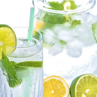 Mint Lemon Lime Detox Water