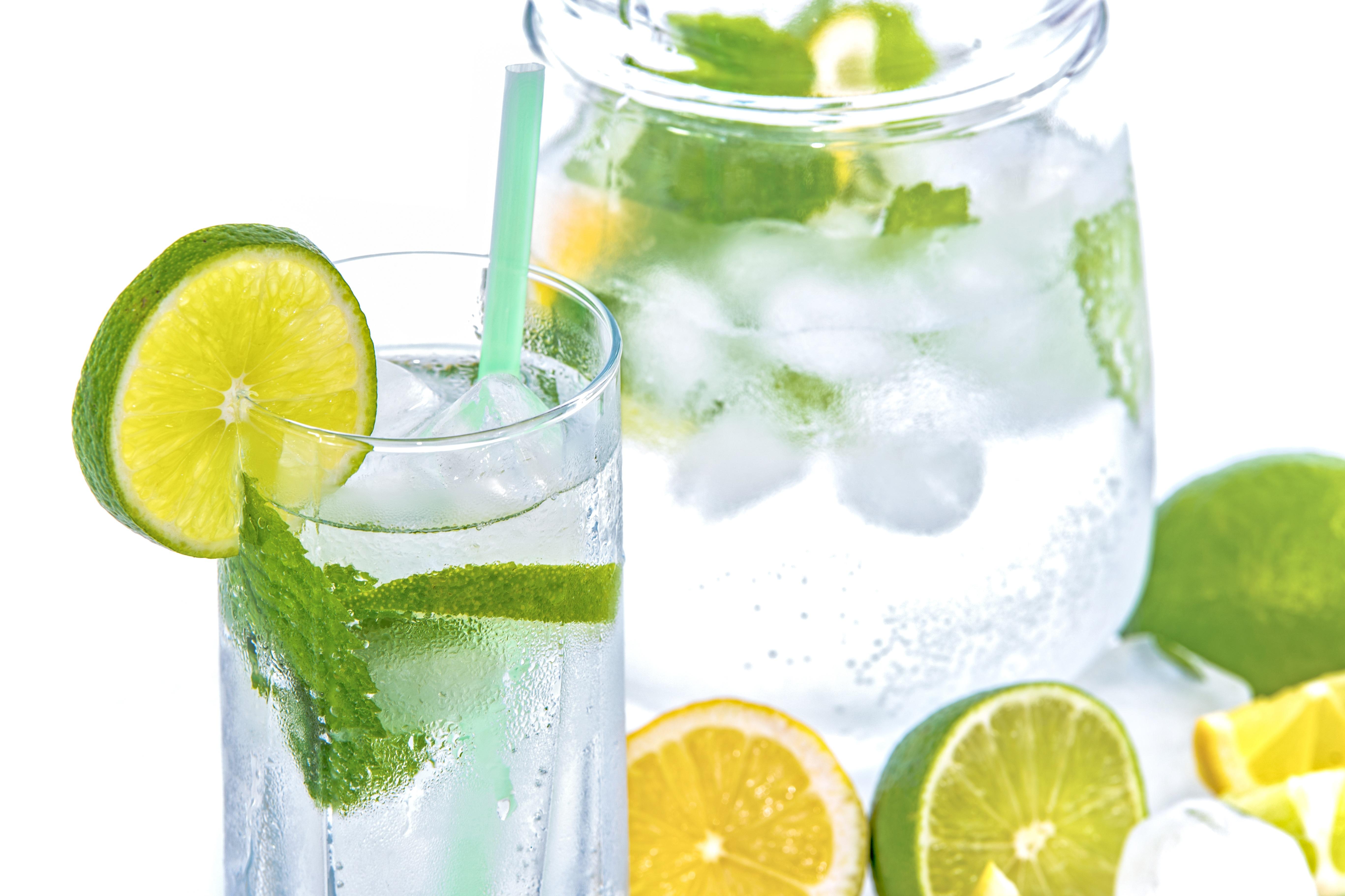 Mint Lemon Lime Detox Water