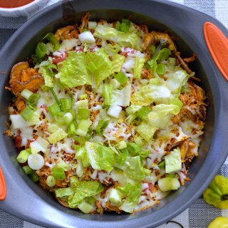 Clean Eating Sweet Potato Nachos