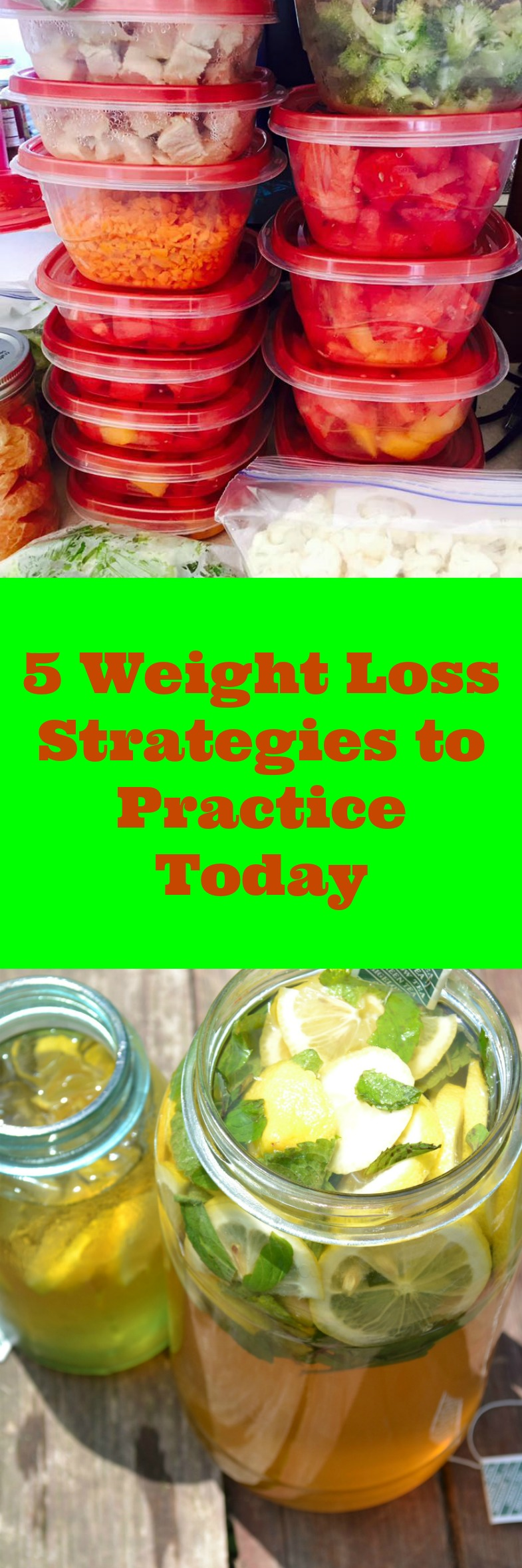 These 5 Weight Loss strategies to practice today will benefit you and your weight loss goals! Start implementing these easy steps for weight loss success.