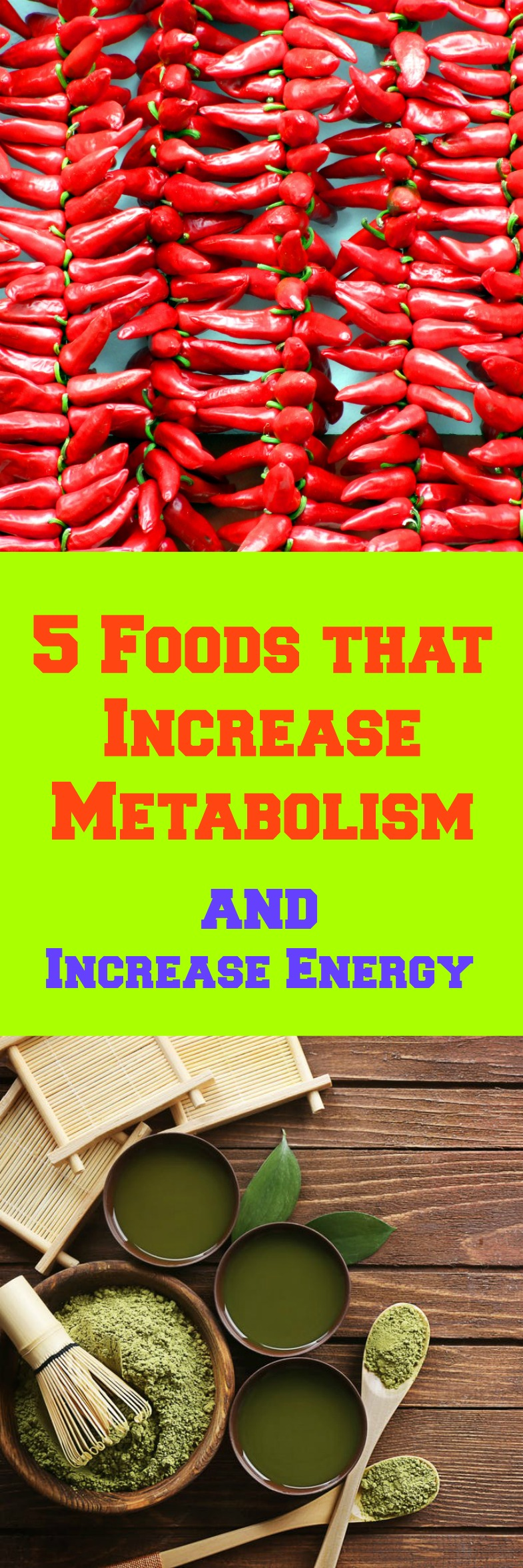 Weight loss plateau? Eat these 5 Foods that actually Increase Metabolism and help with your weight loss goals. Don't let the colder weather and covering up to be a cause for weight gain!