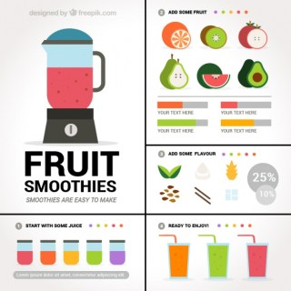 Blackberry Superfood Smoothie (Infographic)