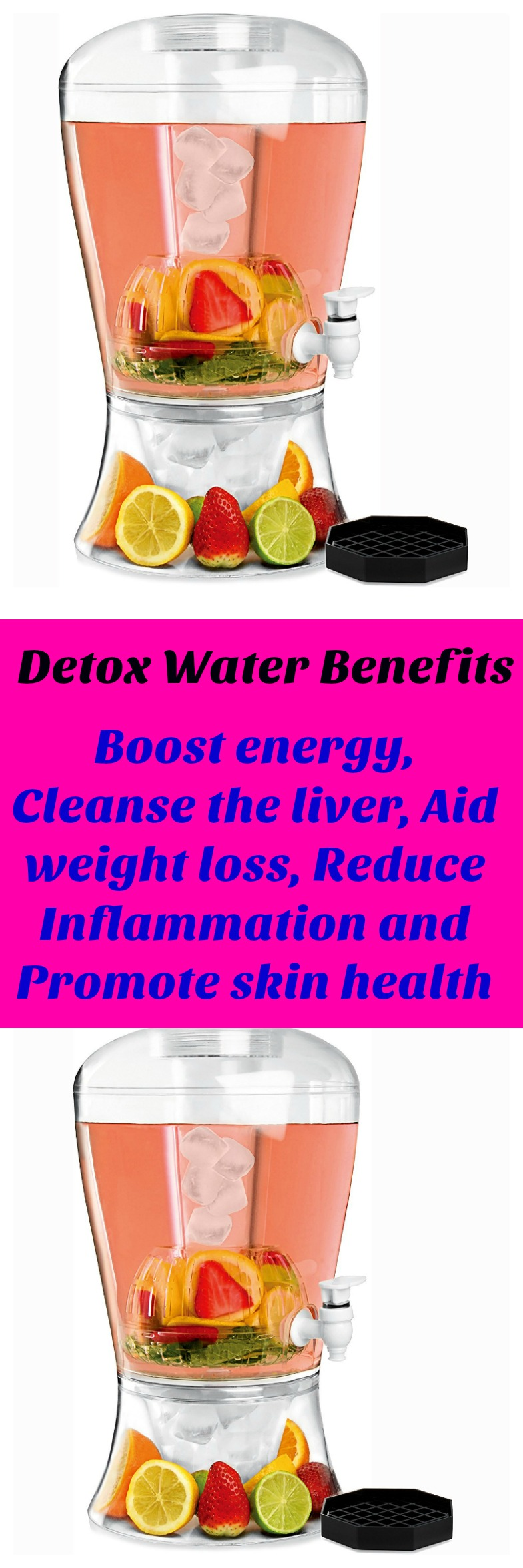 Detox Water Benefits For Relief Of Belly Bloat Aid Digestion Mild Diuretic