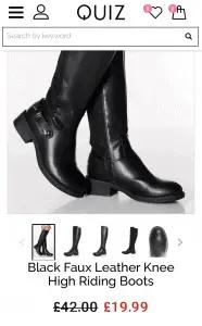 Quiz Boots