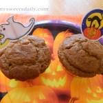 Low Fat Pumpkin Spiced Muffins