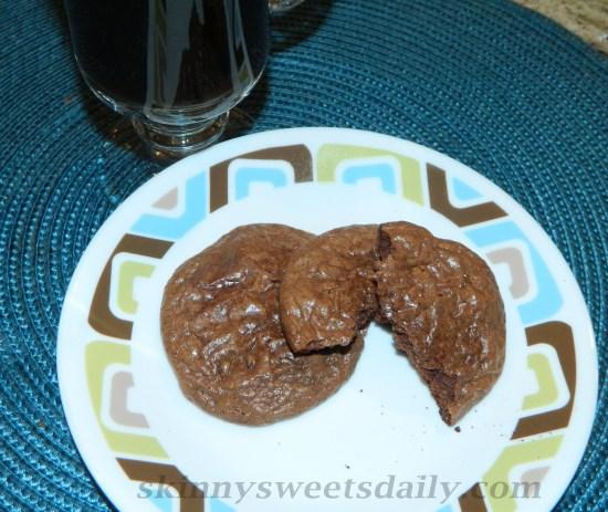 Rich Dark Chocolate Espresso Cookies