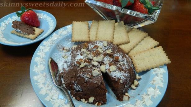 Skinny Irresistible Chocolate Hazelnut Ricotta Spread