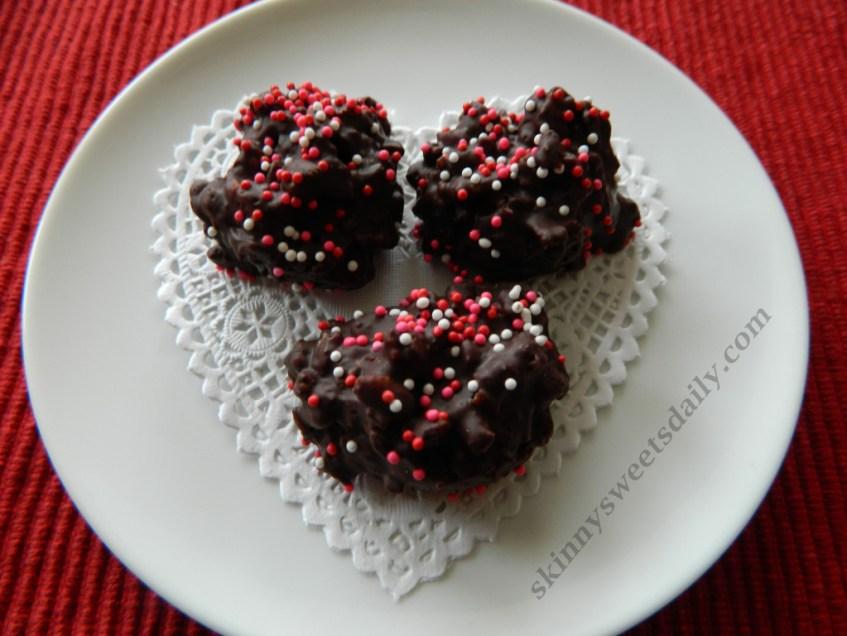 Dark Chocolate Crunch Candies