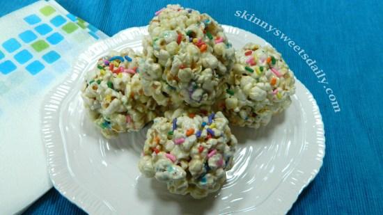 Sassy Funfetti Popcorn Balls