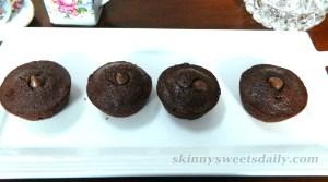 Mini Skinny Nutella Cupcake/Muffins 2