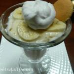 Banana Cream Pie Light Yogurt Parfait