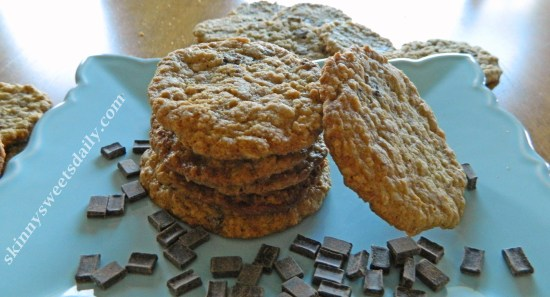 Delicious Gluten Free Chocolate Chip Oatmeal Cookies