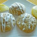 Luscious Lemon Glazed Cookies
