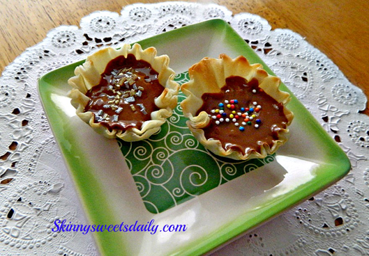 2 Ingredient Mini Phyllo Peanut Butter Cups