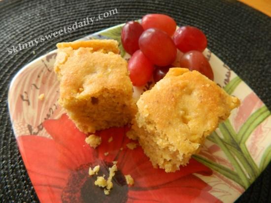 Skinny Vegan Double Corn Bread