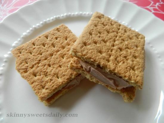 Skinny Nutella Frozen Sandwich Treats