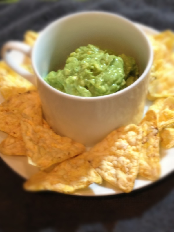 avocado lime and gluten free chips