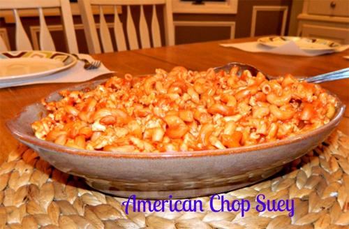 Easiest American Chop Suey